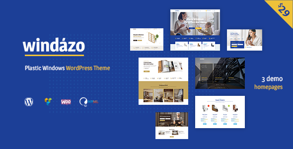 Download Windazo – Plastic Windows and Doors WordPress Theme nulled