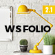 WS Folio - Responsive Portfolio WordPress Theme - ThemeForest Item for Sale