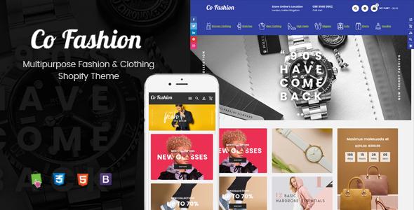 CoFashion - Multipurpose Drag & Drop Fashion Shopify Theme