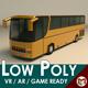Low Poly Coach Bus 02 - 3DOcean Item for Sale