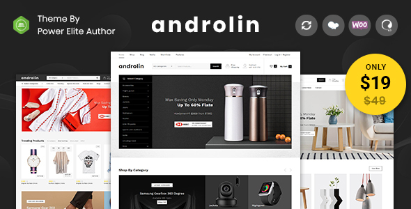 Androlin - Multipurpose WooCommerce Theme