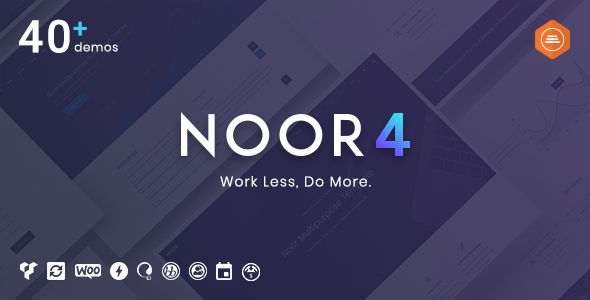 Noor | Multi-Purpose & Fully Customizable Creative AMP Theme