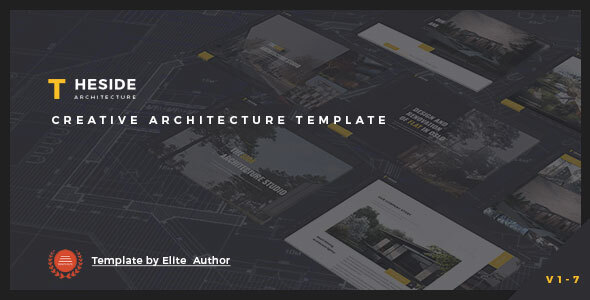 TheSide - Creative  Responsive Architecture  Template