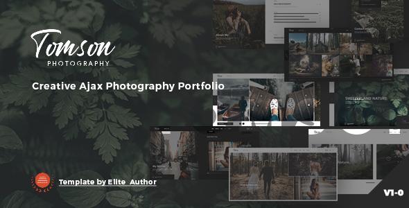 Tomson – Creative Ajax Showcase Photography Portfolio