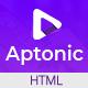Aptonic - App Landing Page - ThemeForest Item for Sale