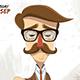 Old School Gentleman Meeting - GraphicRiver Item for Sale