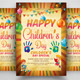 Happy Children Day Flyer - GraphicRiver Item for Sale