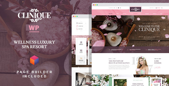 Clinique - Wellness Luxury Spa Resort WordPress Theme