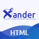Xander - Creative Agency HTML Template - ThemeForest Item for Sale