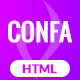 Confa - Event And Conference bootstrap 4 template - ThemeForest Item for Sale
