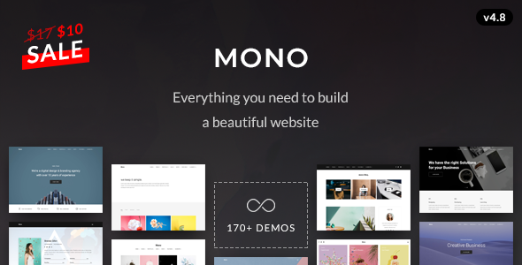 Mono - Creative Multi-Purpose HTML5 Template