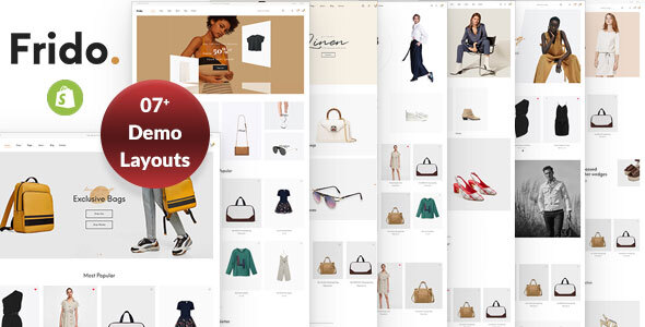 Ap Frido Clothing & Fashion Boutique Shopify Theme