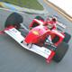 Formula Race Car Pass By
