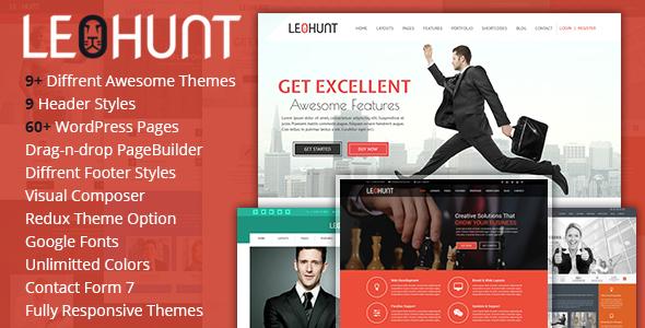 LeoHunt - Responsive MultiPurpose WordPress Theme