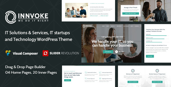 Innvoke - IT Solutions & Services WordPress Theme