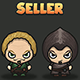 Seller NPC 2D Character - GraphicRiver Item for Sale