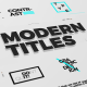 Just Type   Modern Titles - VideoHive Item for Sale