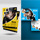 Fitness Flyer with Postcard Bundle - GraphicRiver Item for Sale