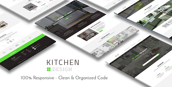 Kitchen - Design Responsive WordPress Theme