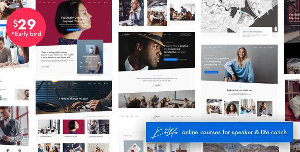 DotLife | Coach Speaker WordPress Free Download