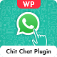 WhatsApp Chit Chat Plugin For WordPress - CodeCanyon Item for Sale