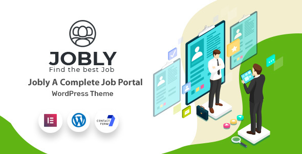 Jobly - Portal and Directory WordPress Theme
