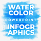 Watercolor Infographics. Powerpoint. Updatable. - GraphicRiver Item for Sale