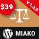 Miako - Lawyer & Law Firm WordPress Theme - ThemeForest Item for Sale