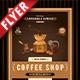 Coffee Grinder Business Flyer - GraphicRiver Item for Sale