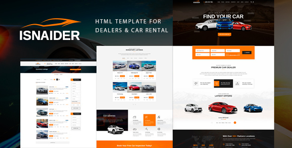 Auto Dealer Website Template from previews.customer.envatousercontent.com