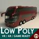 Low Poly Coach Bus 03 - 3DOcean Item for Sale