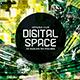 Digital Space Flyer - GraphicRiver Item for Sale