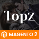 TopzStore - Advanced Responsive Magento 2 Theme - ThemeForest Item for Sale