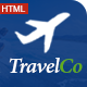 Travel Co: Tourism, Tour and Hotel booking HTML5 Template - ThemeForest Item for Sale