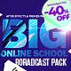 Big Online School Broadcast Pack - VideoHive Item for Sale
