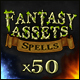 50 Fantasy Spells Icons - GraphicRiver Item for Sale