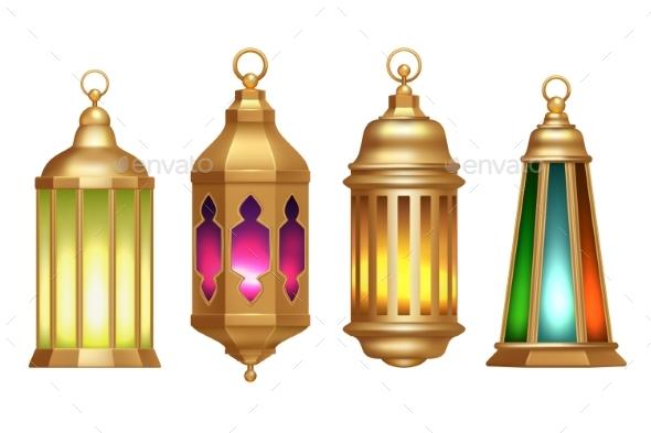 Ramadan Lanterns Muslim Islamic Vintage Lamps