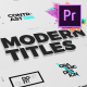 Just Type   Modern Titles For Premiere Pro MOGRT - VideoHive Item for Sale