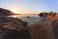 sunrise on the beach - PhotoDune Item for Sale