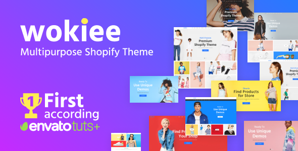Wokiee - Multipurpose Shopify Theme