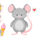 Baby Mice - GraphicRiver Item for Sale