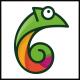 Chameleon Logo Template - GraphicRiver Item for Sale