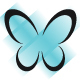 Butterfly Stripes Logo - GraphicRiver Item for Sale