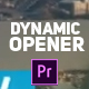Triangular Modern Dynamic Opener - VideoHive Item for Sale