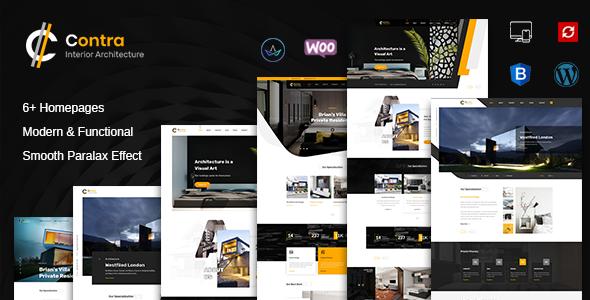 Contra | Interior Design & Architecture WordPress Theme
