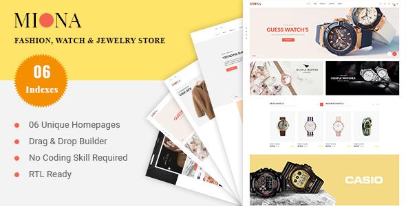 MIONA - Multipurpose Shopify Theme