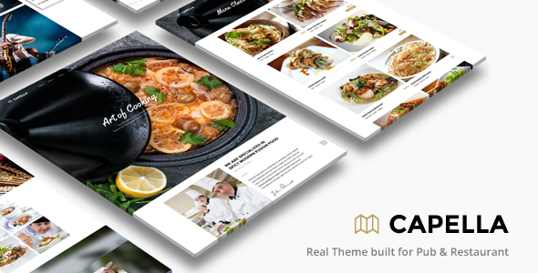Restaurant WordPress   Capella for Restaurant