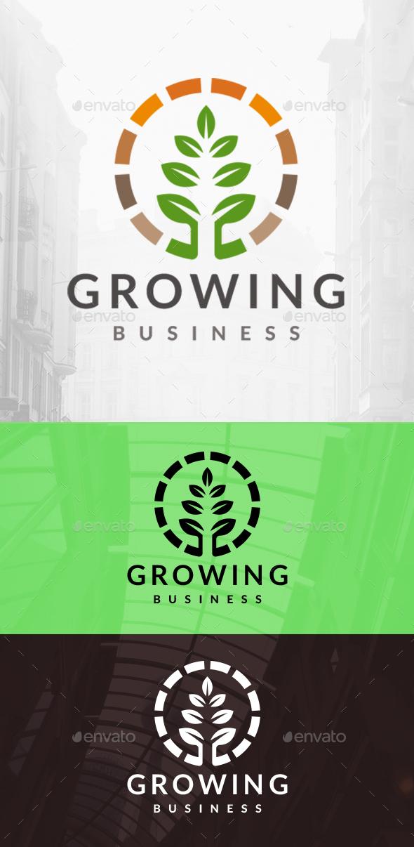 Eco Grow Circle Logo