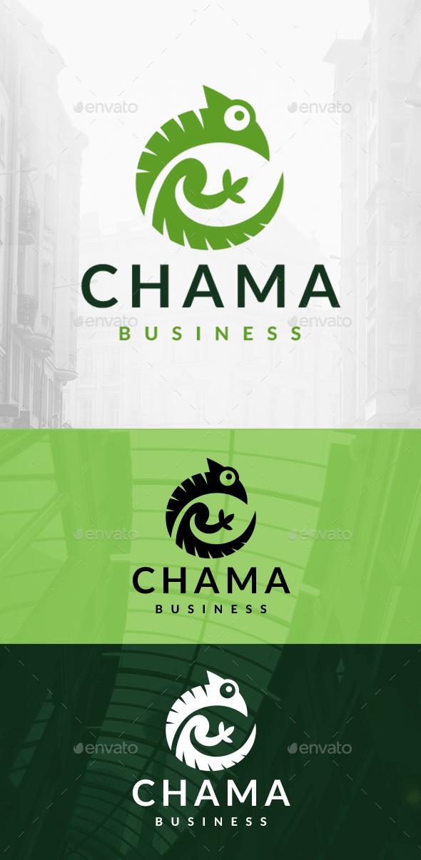 Chameleon Circle Logo