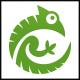 Chameleon Circle Logo - GraphicRiver Item for Sale